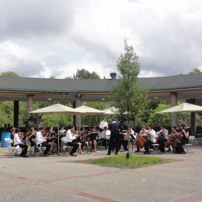 Montréal 5 : concert au parc Lafontaine