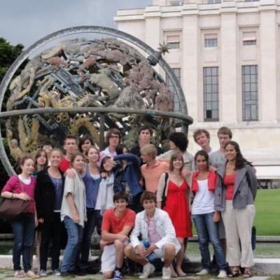 Suisse - visite de l'ONU 28/07