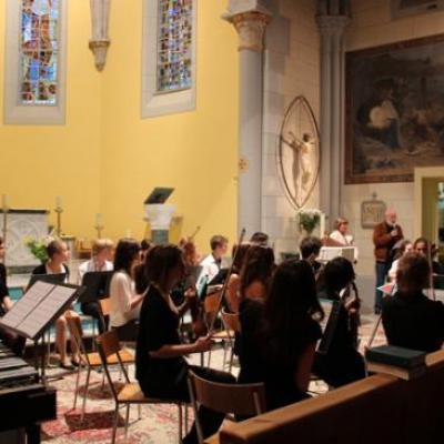 stage Suisse - Concert de Leysin 26/07