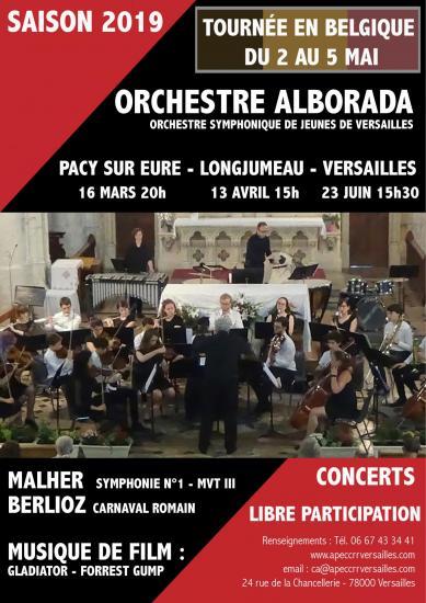 Affiche concert saison et tournee 1