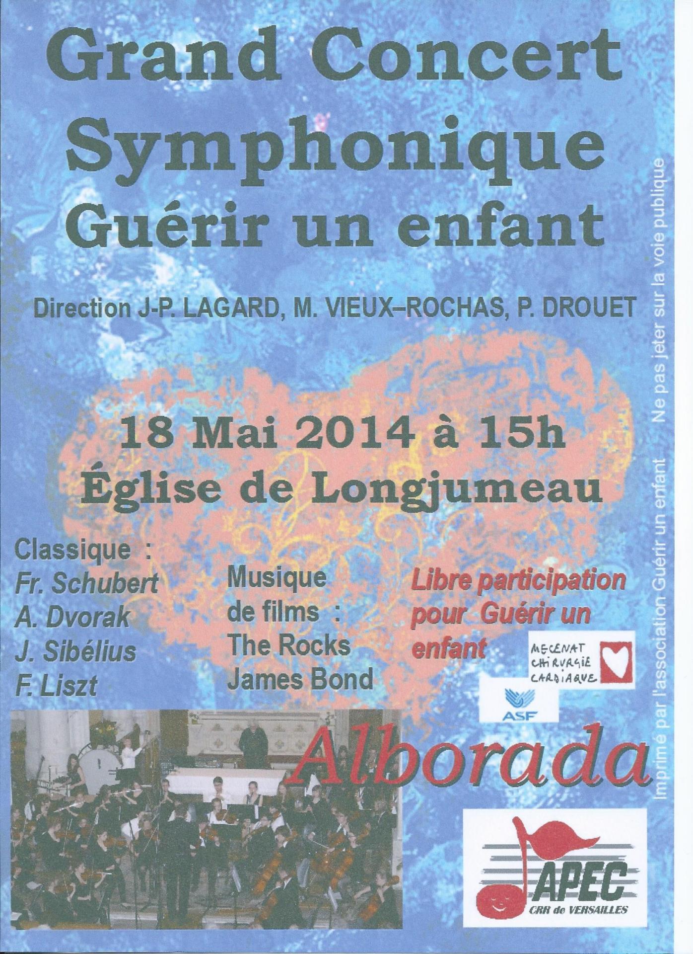 Concert longjumeau 2014